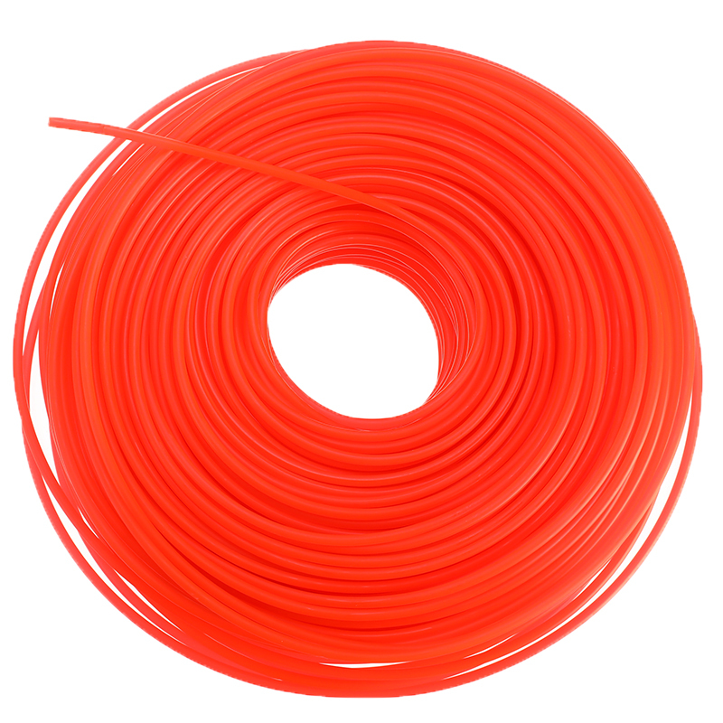 1pc 2.4mm*90m/3mm*80m Nylon Trimmer Line Grass Cutter Rope Trimmer Roll Cord Wire String For Grass Strimmer Replacement