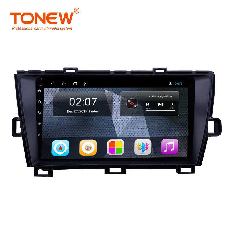 Androidのため10トヨタプリウス2009 2010 2011 2012 2013マルチメディアステレオ車のdvd gpsラジオ