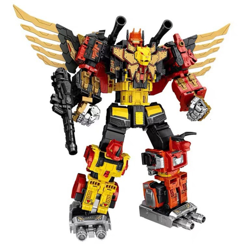 WEIJIANG G1 Transformation Action Figure Movie Model 5in1 Predaking - Divebomb Rampage Headstrong 45cm ABS Oversize Robot Toys