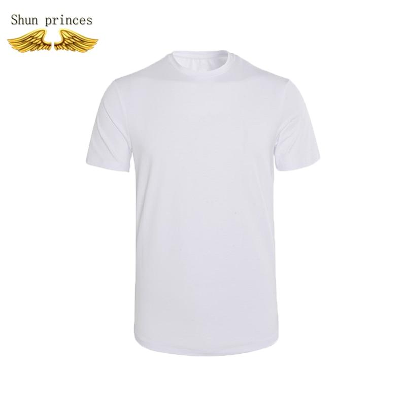 Nguyên Chất Cotton Áo Thun Nam Dành Cho Phong Trào Cổ Tròn Nguyên Chất Màu Áo Thoáng Khí Trang Phục Áo Cotton Tay Ngắn Phúc Lợi Mới
