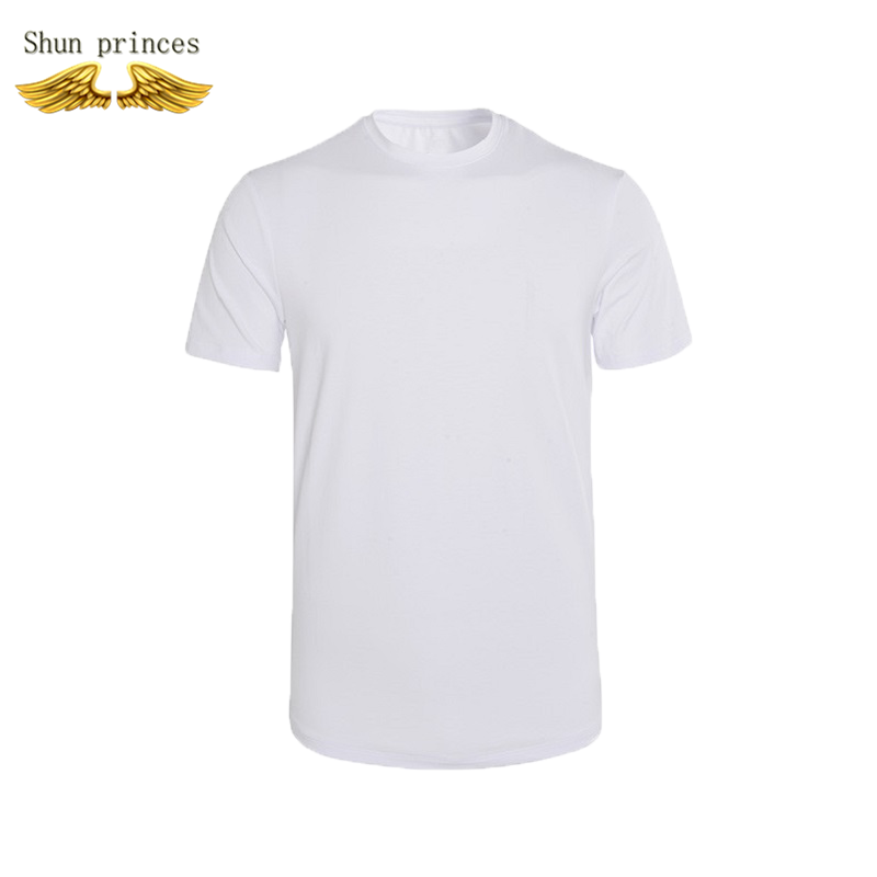 T shirt men Round collar cotton Pure color t shirt style outdoor leisure t shirt running fitness t shirt running men t shirt