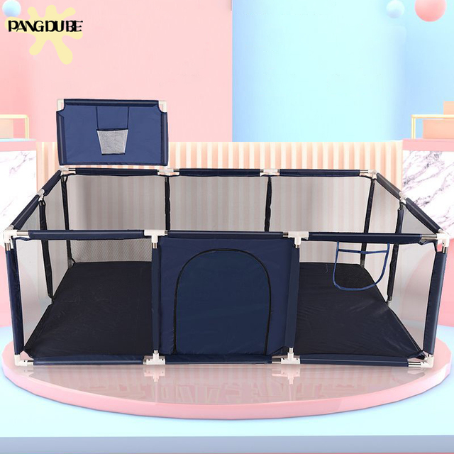 New Arrival Baby Playpen for Children Baby Playground for 6 months~6 Years Old Kids Ball Pit Playpen Indoor Baby Safety Fence 1