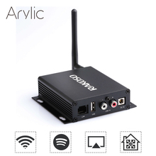 Przedwzmacniacz RAKOSO X10 WiFi HiFi z przewodem dac wyjście optyczne koncentryczne wyjście w usb LAN Spotify Airplay DLNA Multiroom APP