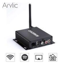 RAKOSO X10 WiFi HiFi Vorverstärker mit ESS dac linie heraus optische koaxial out linie in usb LAN Spotify Airplay DLNA multiroom APP
