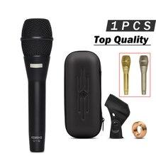 3 cores!! Qualidade superior k9 microfone vocal portátil!! Microfone profissional do karaoke de k9g para o discurso ao vivo da mostra ktv