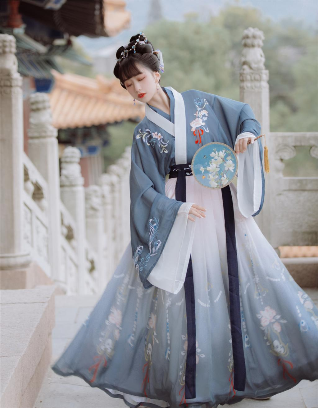 2020 Chinese Traditional Hanfu Dress Woman Elegant Dance Costumes Ancient Tang Dynasty Retro Cheongsam Year Photography Clothing