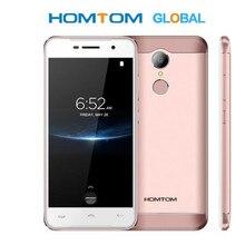 Original homtom ht37 pro smartphone 4g mt6737 5.0 Polegada hd android 7.0 telefone celular 3 + 32 gb 13mp 3000 mah impressão digital id