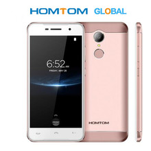 Orijinal HOMTOM HT37 Pro Smartphone 4G MT6737 5.0 inç HD Android 7.0 cep telefonu 3 + 32GB 13MP 3000mAh parmak izi kimliği
