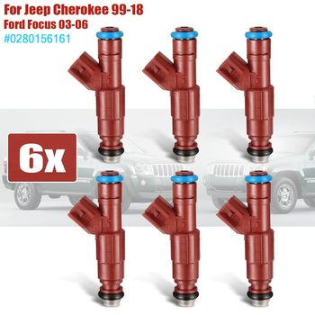 New #0280156161  Fuel Injector Replacement For Ford/Focus/Jeep/Cherokee 1999 2000 2001 2002 2003 2004 2005 2006 2007 2008 2009