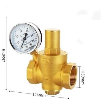 Darmowa wysyłka 1 2 #8222 mosiądz DN15 regulator ciśnienia wody (prv) z manometrem utrzymanie ciśnienia zawór redukcja ciśnienia wody tanie i dobre opinie Redukcyjny Średniego ciśnienia Standardowy Bez konieczności Ręcznego I Instrukcji Instrukcja BRASS 1 2 Normalna temperatura