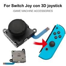 3D Analog Joystick Thumb çubukları sensörü değiştirmeleri Nintendo anahtarı Joy Con denetleyicisi için