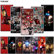YIMAOC Spidey Iron Man Case for Samsung Galaxy S10 S9 S8 S7 Plus A70 A60 A50 A40 A30 A20 A10 A50S A30S A20S(China)