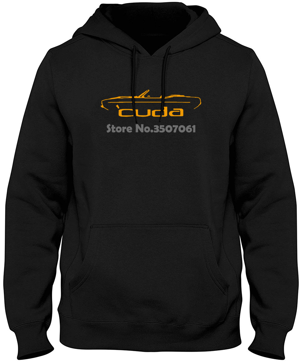 Design Casual Cool 1970-74 Plymouth Cuda Convertible Classic Color Outline Design  Hoodies & Sweatshirts