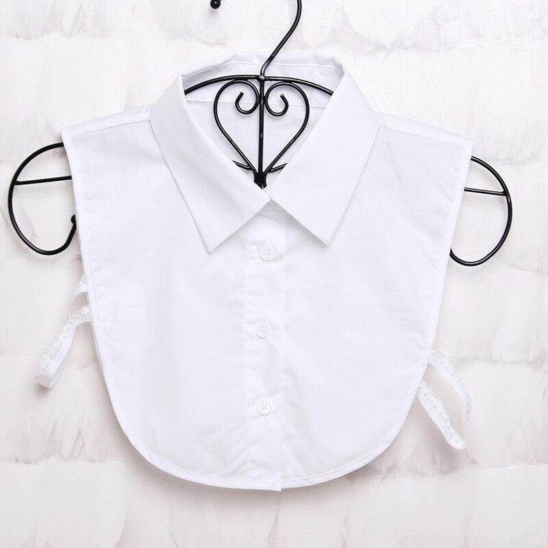 Women Shirt False Collars Blouse Vintage Detachable Clothes Accessories