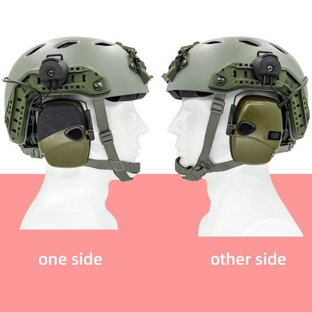 arc track шлем крепление гарнитура тактическая электронная съемка фотография