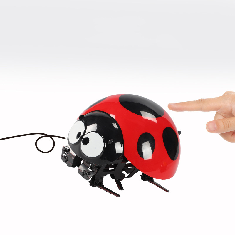 Remote Control Realistic RC Ladybird Walking Animal Model Toy Gift Model
