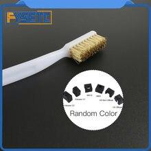 Инструмент для чистки 3d принтера зубная щетка с медной проволокой