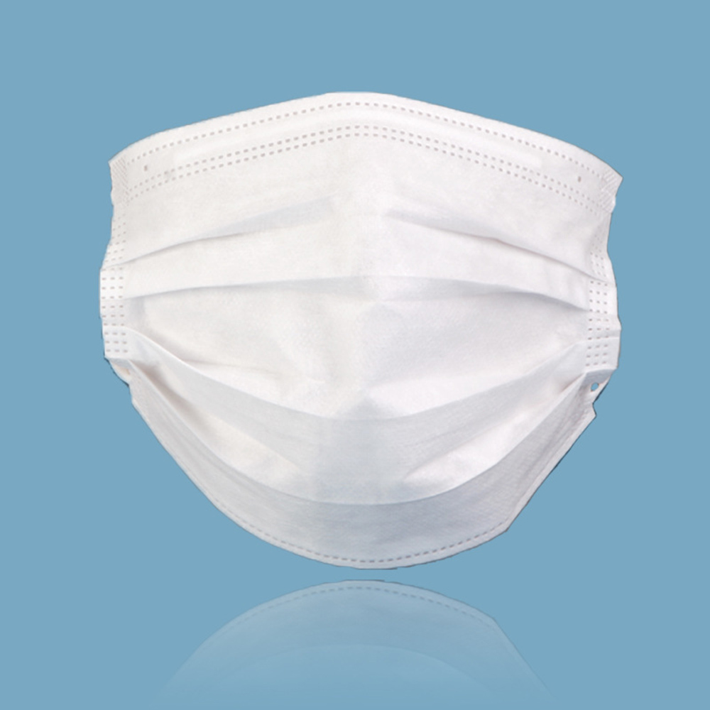 Image 2 - 10 20 50 pcs/pack Non Woven Maska Disposable Earloop Face Mask 3 Layer Non woven Meltblown Cloth Earloop Anti Dust Mouth MaskMens Masks   -