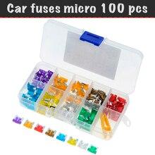 100 pcs/lot, fuses, fuse car fuse micro, 3A, 5A, 7.5a, 10A, 15A, 20A, 25A, 30A