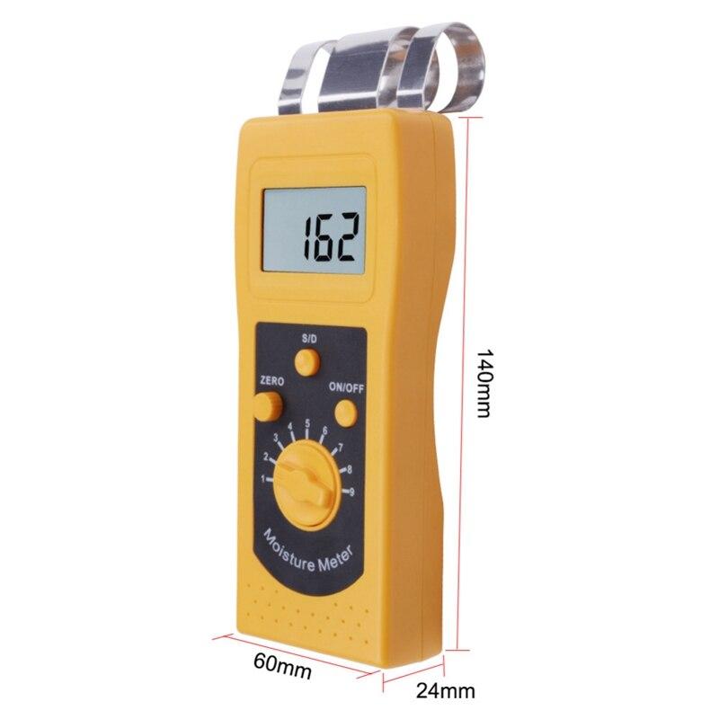 Dm200w indutivo analisador de umidade de madeira