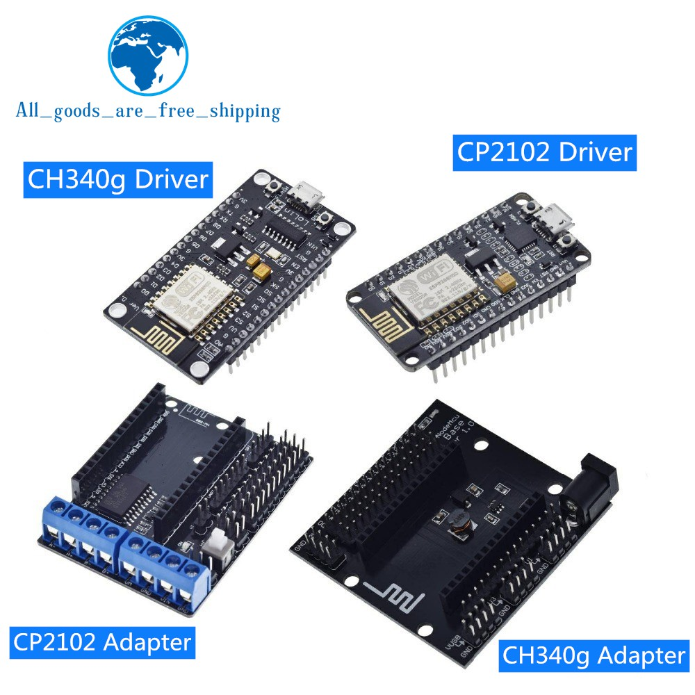 ESP8266 ESP-12E CH340G CP2102 Development Board Smart V3 ESP8266 CH340 Wireless WiFi Internet of Things for NodeMCU