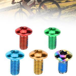 12 шт. M5x11.5 MTB дорожный велосипед диск тормозной ротор болты сталь T25 Torx винты для велоспорта красочные дисковые винты Аксессуары для велосипе...