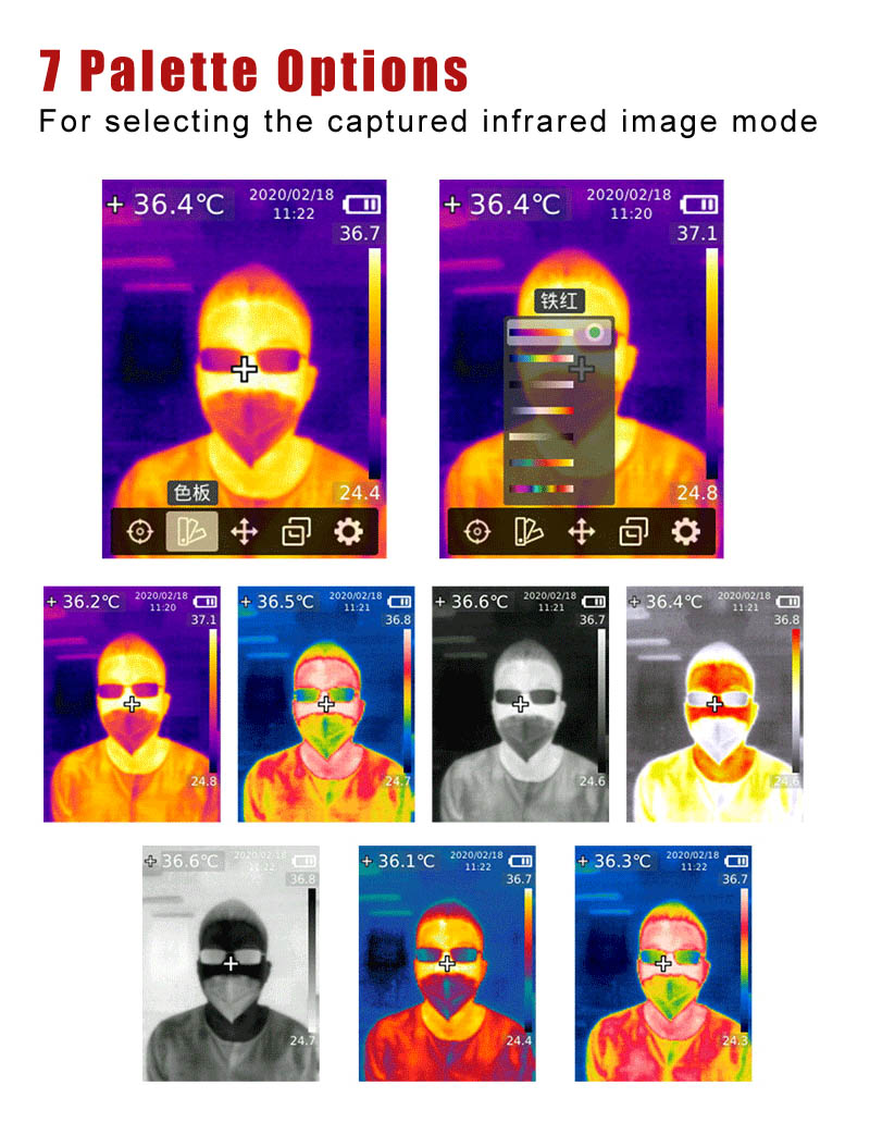 Thermal Imaging Camera With Photographed function and SD Card storage 10