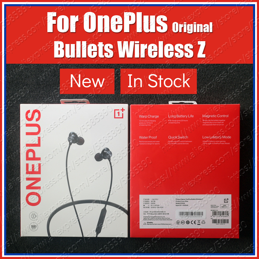 110ms Quick Pair Original Oneplus Bullets Wireless Z Bluetooth Earphones AAC Dynamic Magnetic Control For Oneplus 8 Pro 7T 7 Pro