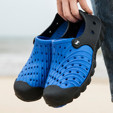 Hot Sale Men's Sandals PVC Breathable Sports Sandals Water Shoes Fishing Sneakers Men's Beach Sandals Water Shoes Large Size 46