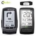 Meilan Wireless GPS di Navigazione Bike Computer Con Petto Monitor di Frequenza Cardiaca di Velocità/Sensore di Cadenza Bluetooth 4.0 Contachilometri Bicicletta
