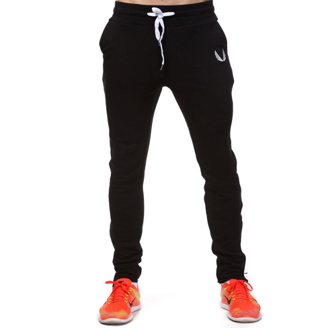 Four Seasons Men's Sports Pants  Gym Fitness Sports Jogging Sports Pants / Men's Casual Cotton Pencil Pants 2