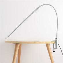 Long Arm Table Lamps Clip 900 Lumens Flexible LED Desk 5V 3W 48PCS LEDs Strip Light USB 11inch Wire Nordic Lamp