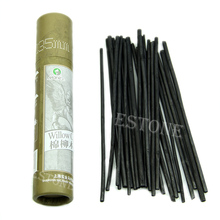 25Pcs Artist For Charcoal Dark Black Pencils Oil Painting Sketch Drawing Craft