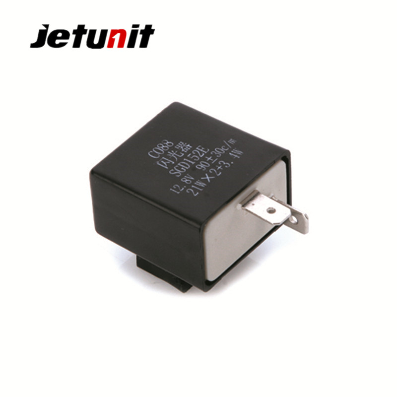 JETUNIT Motorcycle LED Flasher Relay for <font><b>Yamaha</b></font> <font><b>DT</b></font> <font><b>180</b></font> RD 135 <font><b>DT</b></font> 200 Motorcycle Electrical Parts Motorcycle Accessories image