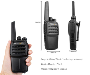 Image 4 - RETEVIS RT40 DMR Digital PMR Radio Walkie Talkie 10pcs FRS/PMR446 446MHz 0.5W VOX USB Charging Private/Group Call Two Way Radio