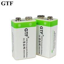Литий ионная аккумуляторная батарея gtf 9 В 500 мАч в