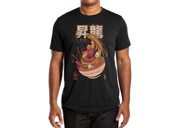 Spicy Shoryu Noodles T-Shirt Ukiyo Cotton O-Neck Short Sleeve Mens T Shirt
