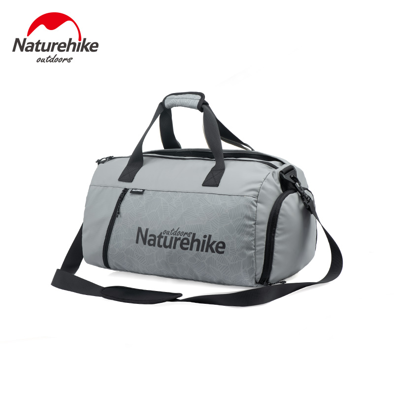 Naturehike 20-30L Sport Gym Bag Shoulder Handbag Separation Duffel Fitness Bag Multi-pocket Dry Bag Waterproof Storage Bag Unise