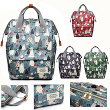 Get more info on the Diaper Bag Mini Bear Forest Hand Painted Cartoon Waterproof Nappy Bag Baby Care Travel Backpack Maternity Bag