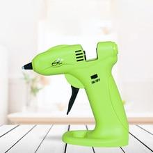 USB Recharge Hot Melt Glue Gun Silicon Gun Wireless Battery Use 7MM Colorful Hot Glue Sticks Thin Beak Handmade Tools DIY