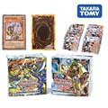 288 pçs/caixa cartões yugioh takara tomy 36 pacotes yu gi oh anime jogo coleção cartões crianças brinquedos