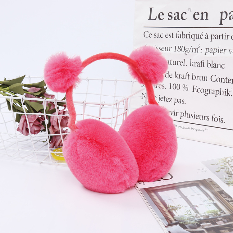 500 New Cute Ear Muffs Warm Winter Riding Cold Anti-freezing Ear-warming Winter Accessories