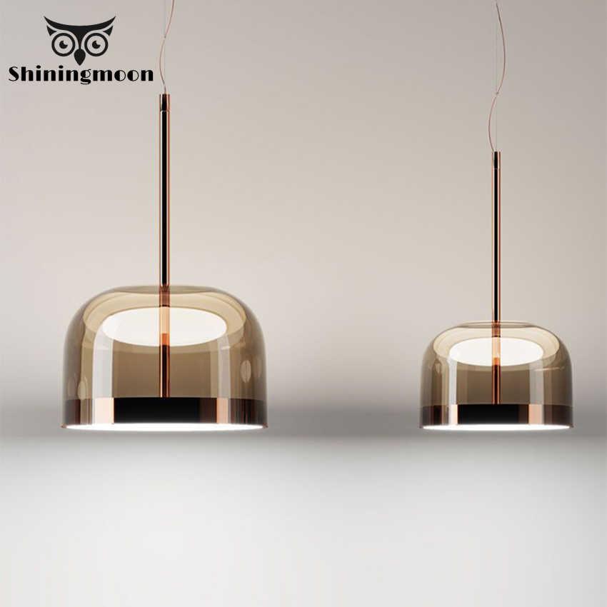 Nordic Luxury Led Gl Pendant Lights