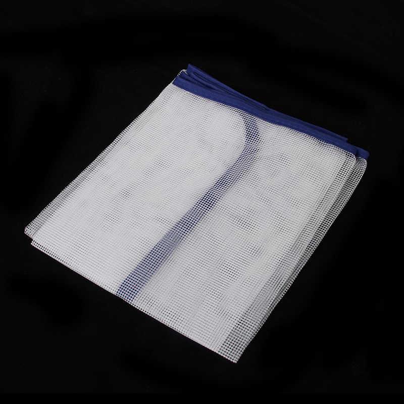Mesh Ironing Protective Cloth Set 40 x 90 cm White U5N6 AL