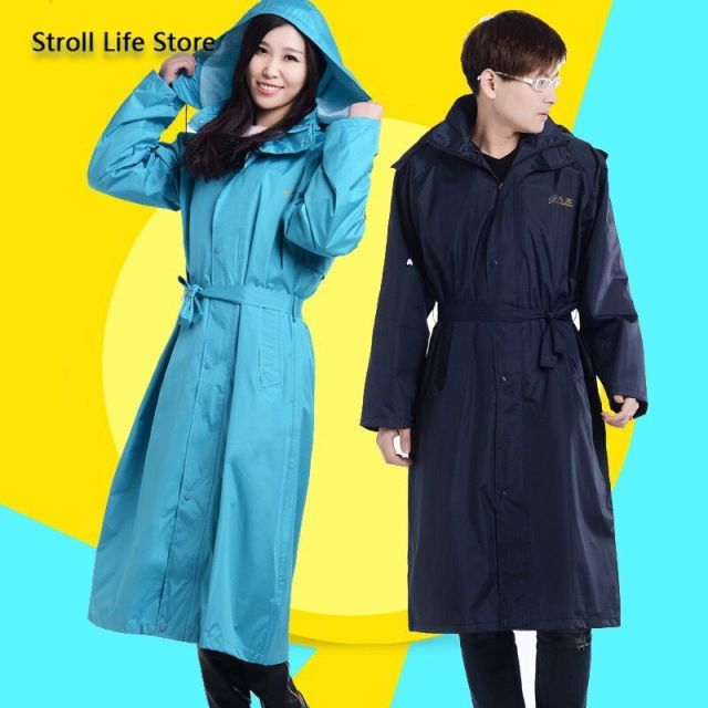 Adult Men Windbreaker Rain Coat Women Outdoor Long Rain Coat Travel Hiking Rain Poncho Trench Coat Men Waterproof Suit Gift