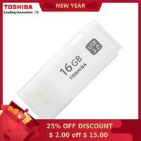 TOSHIBA USB флэш-накопитель 16 ГБ реальная емкость THUHYBS USB 3 0 16 г USB флэш-накопитель качества карта памяти 16 г Pen drive бесплатная доставка
