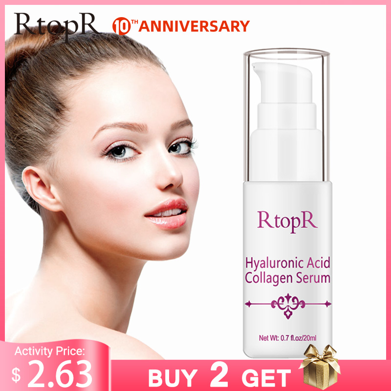 Hyaluronic Acid Collagen Face Serum Acne Treatment Anti Wrinkle Skin Care Essence Face Care Whitening Anti-Aging Facial Serum