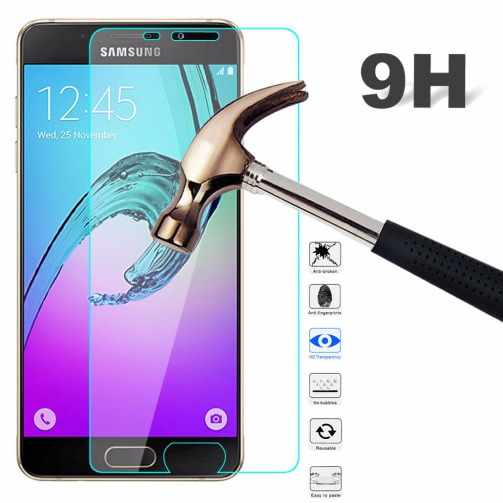 9H Tempered <font><b>Glass</b></font> Film For <font><b>Samsung</b></font> Galaxy G530 G355 G360 i9060 i9082 S5 S6 A3 A5 2016 2017 J1 J3 J5 Prime Screen Protector Case image