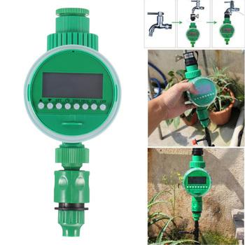 Podlewanie ogrodu zegar zawór kulowy automatyczny elektroniczny wodomierz domowy nawadnianie ogrodu wyłącznikiem czasowym tanie i dobre opinie Other Ogród wodny timery Z tworzywa sztucznego Garden Water Timers Irrigation Timer