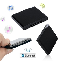 led music Bluetooth V2.0 A2Dp Music Receiver Adapter For Ipod For Iphone 30 Pin Dock Docking Station Speaker With 1 Led(Black) (5)